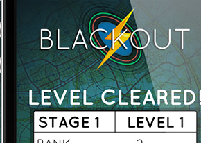 Blackout Mobile iOS game for Apple high score screen